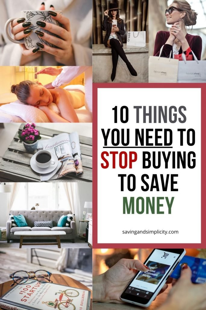 things you need to stop buying to save money