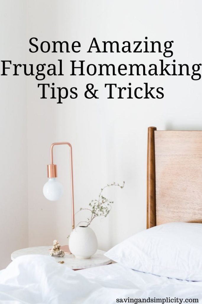 Homemaking is the art of making your house a home. Learn some of the best frugal living tips to help you save money and live well on one income.