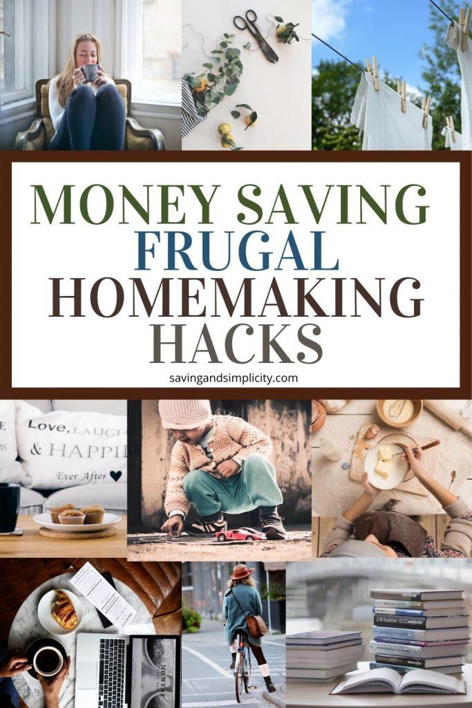 frugal homemaking hacks