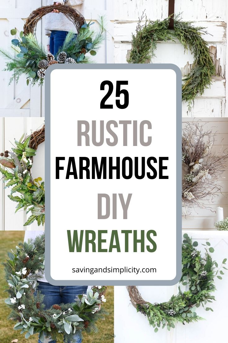 rustic farmhouse wreaths