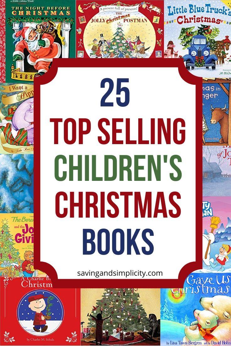 top selling children's Christmas books