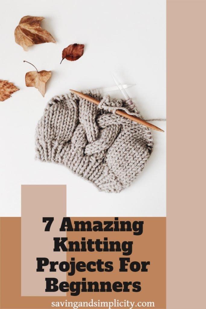 knitting patterns for beginners