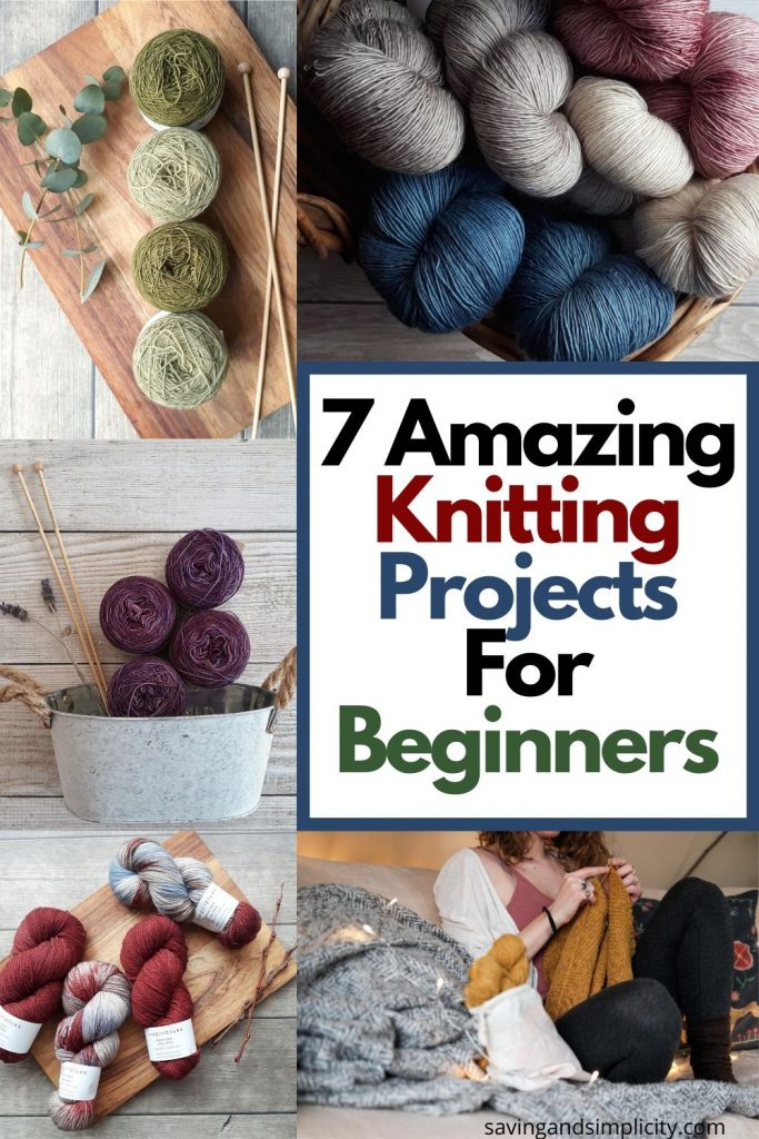 knitting projects beginner