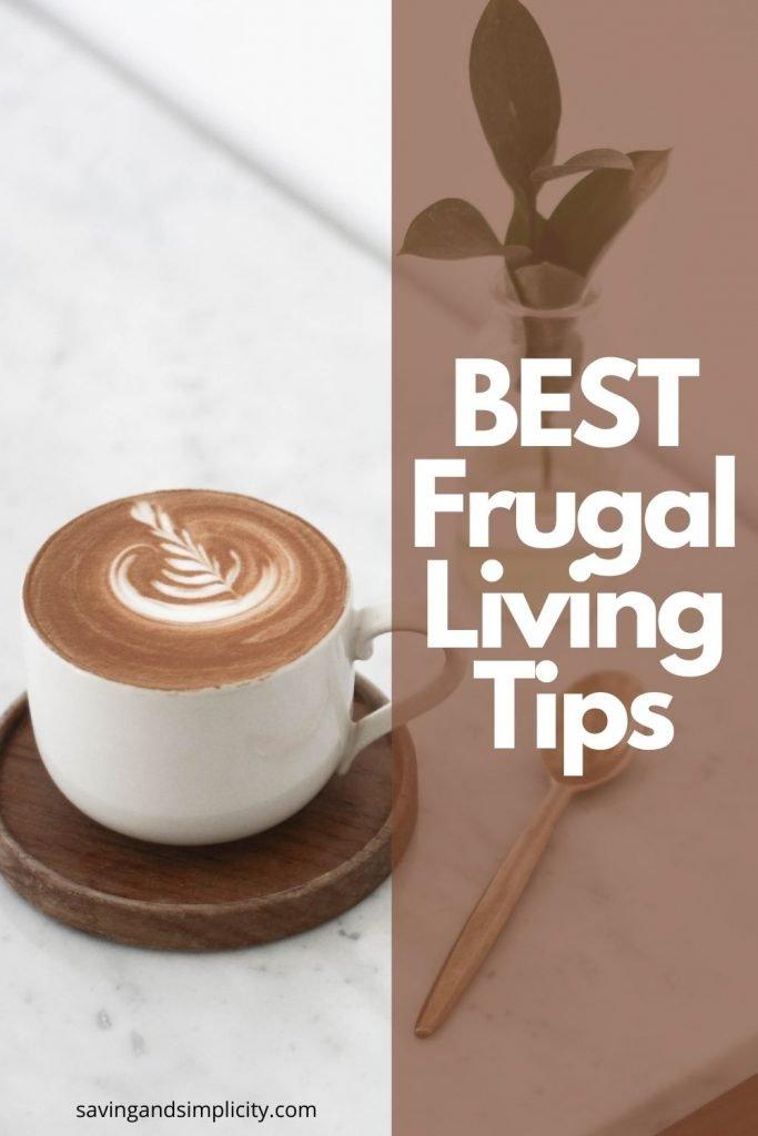 frugal living tips