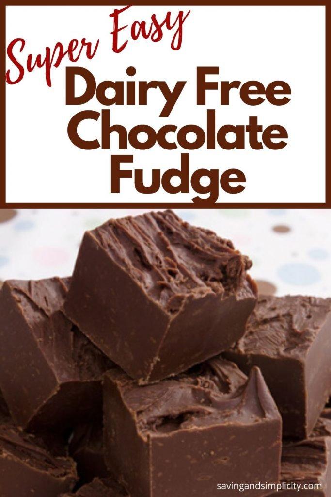 dairy free chocolate