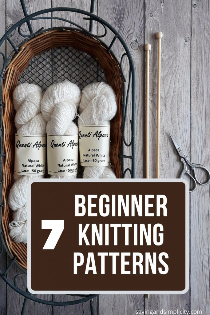 beginner knitting