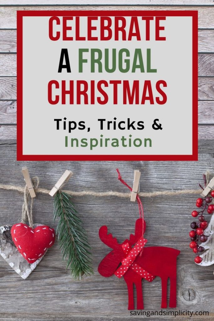 Frugal Christmas on little or no money. Is money tight this Christmas? Don't stress. Learn ways to cut the costs and save money during the holidays.