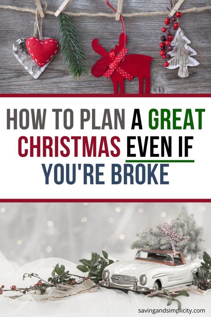 broke christmas