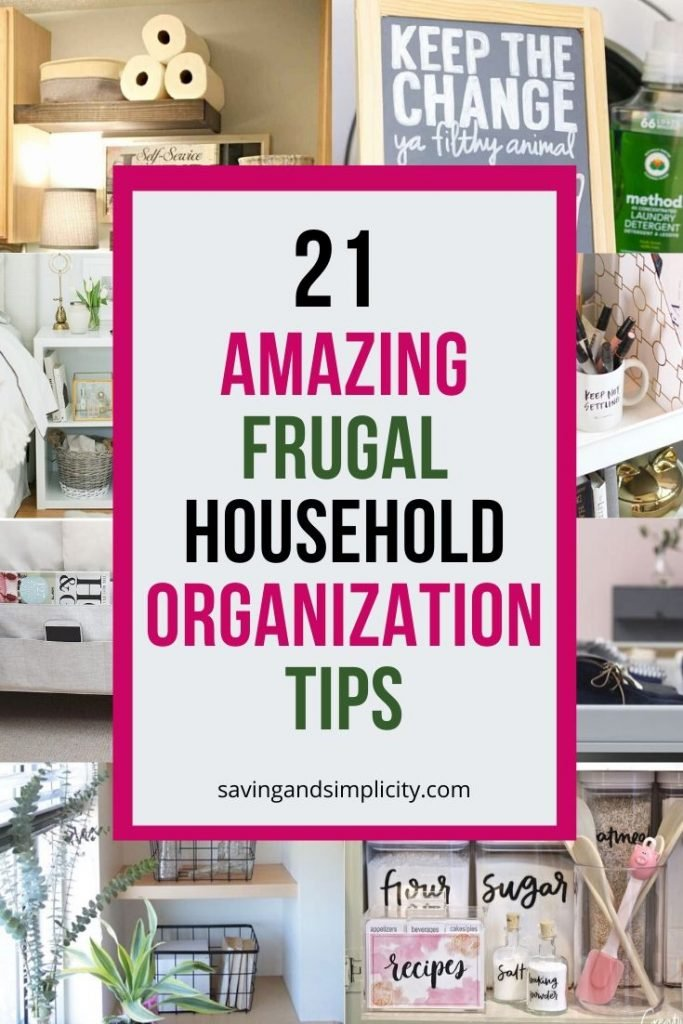 Are you looking to clear the clutter and organize your home? Discover 21 amazing household organization ideas you will regret not trying.