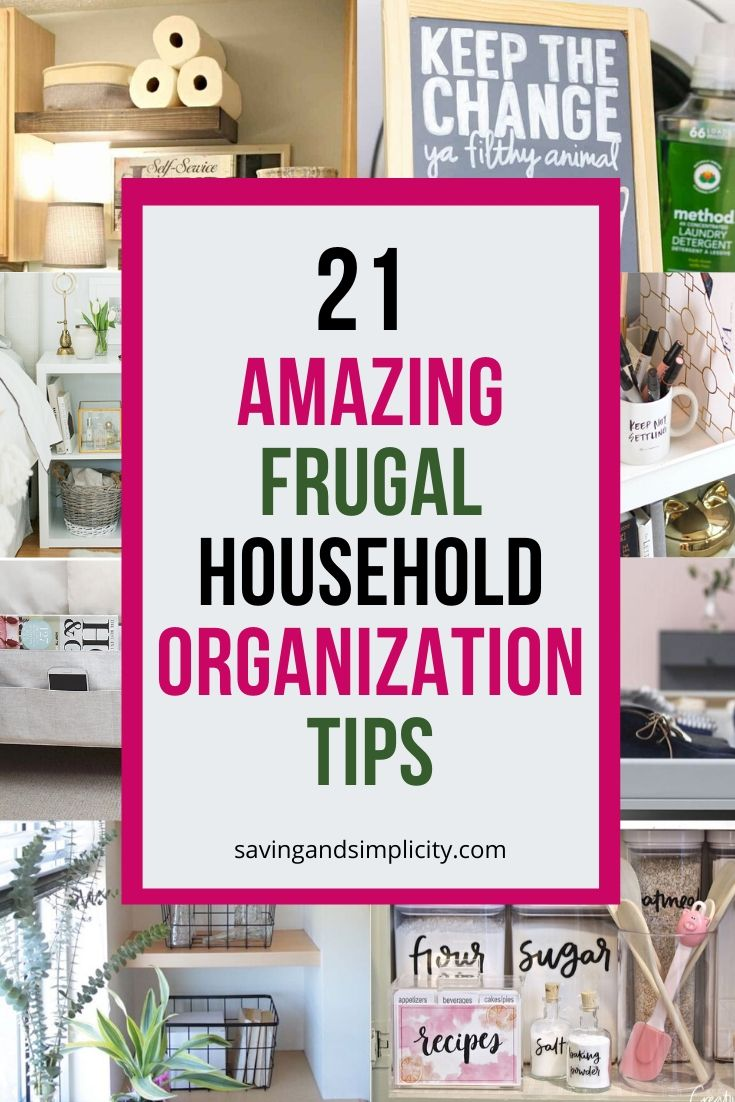 frugal household tips