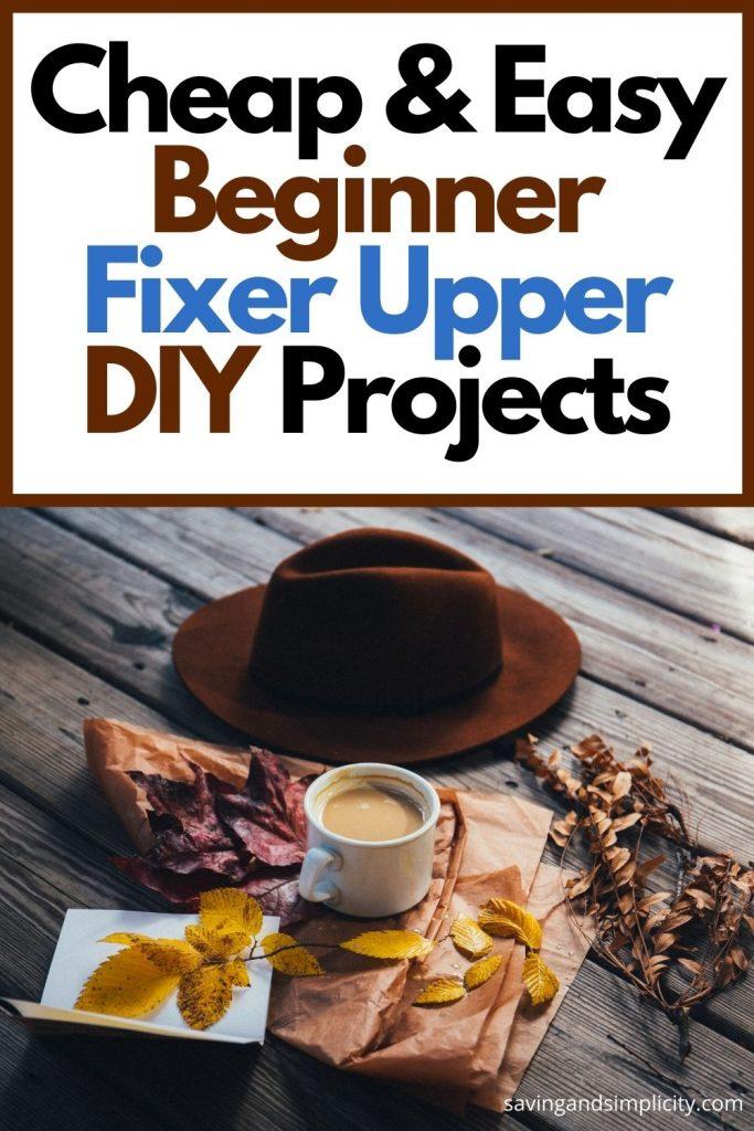 fixer upper diy