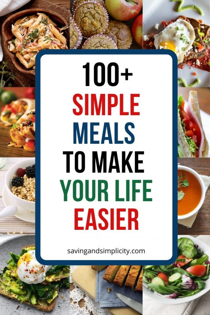 simple easy meals