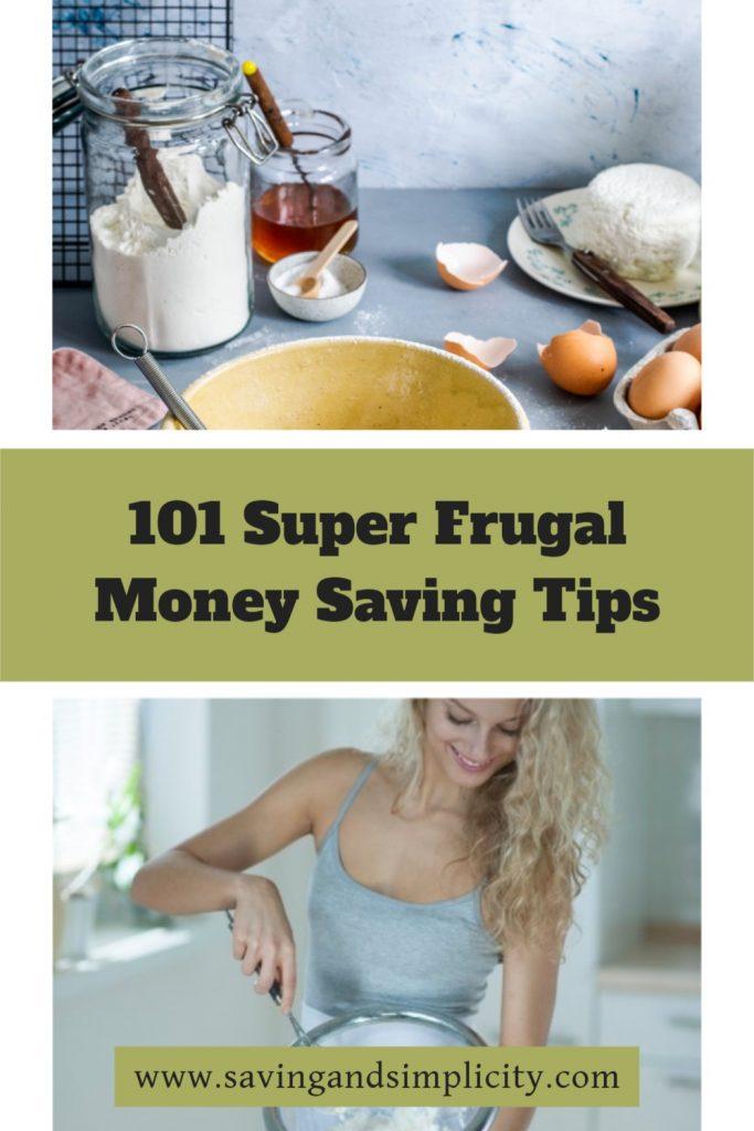 super frugal tips