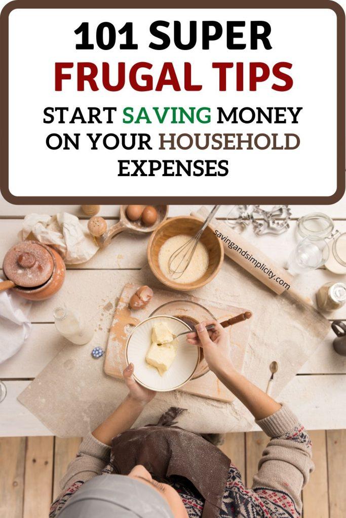 101 frugal tips