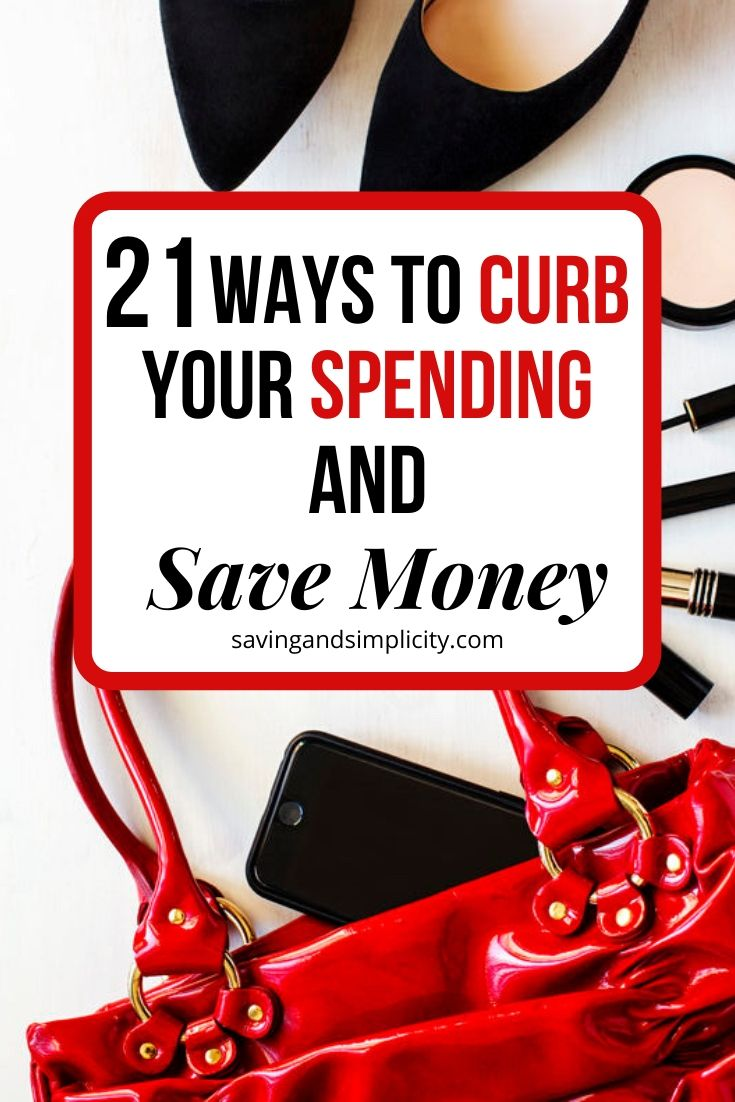 Are you looking for ways to decrease your household spending and increase your savings? Discover 21 ways to help you curb your spending.