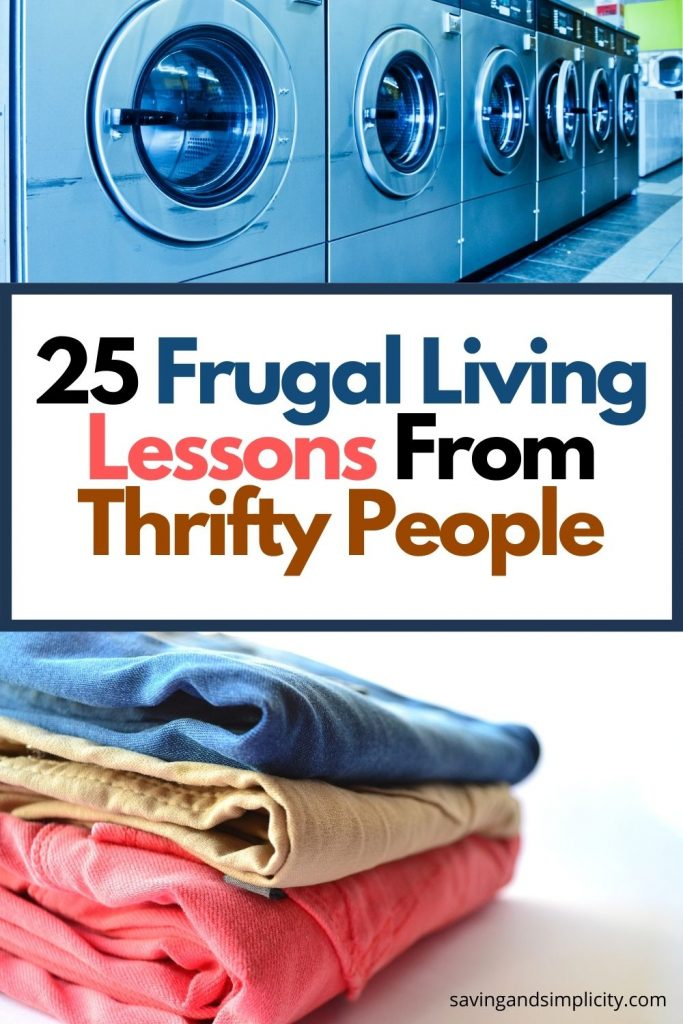 frugal living lessons