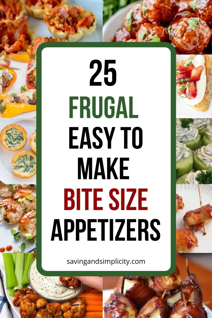 bite size appetizers