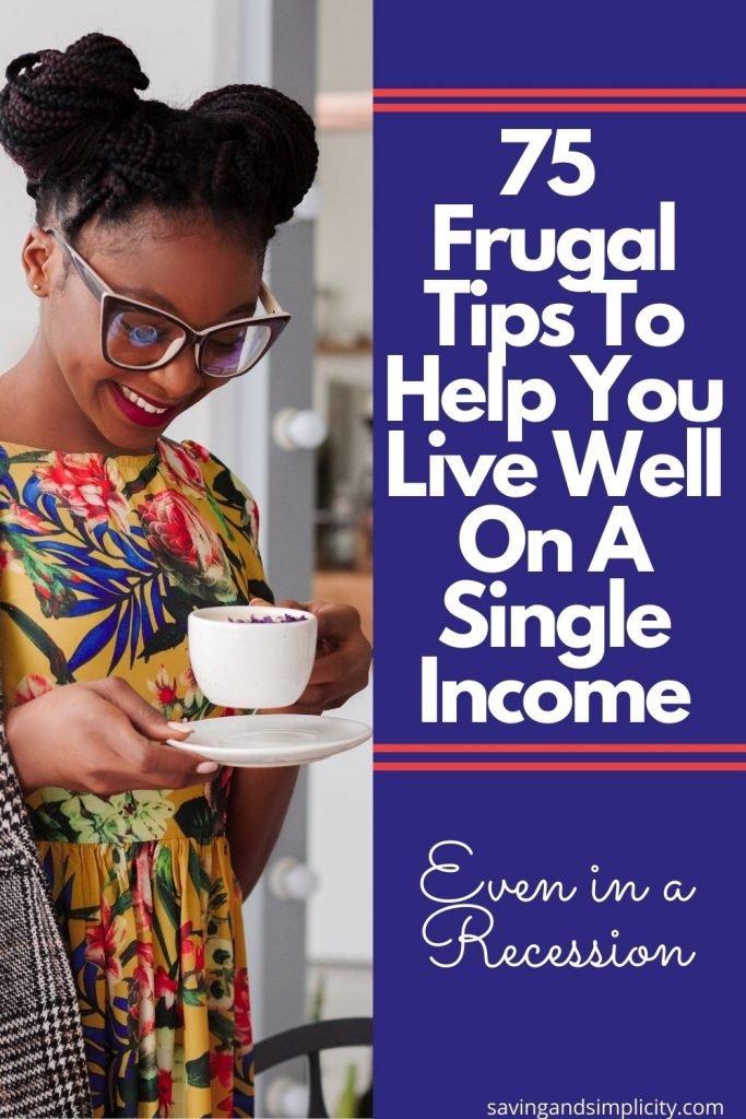 single income