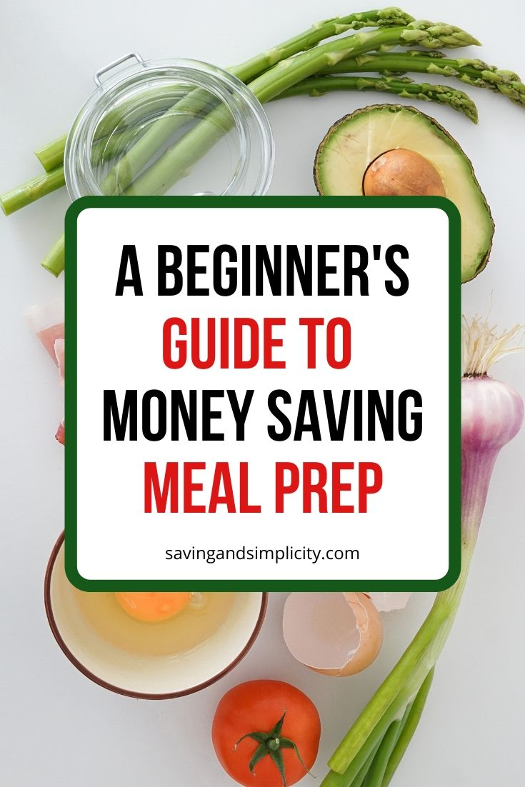 meal prep guide