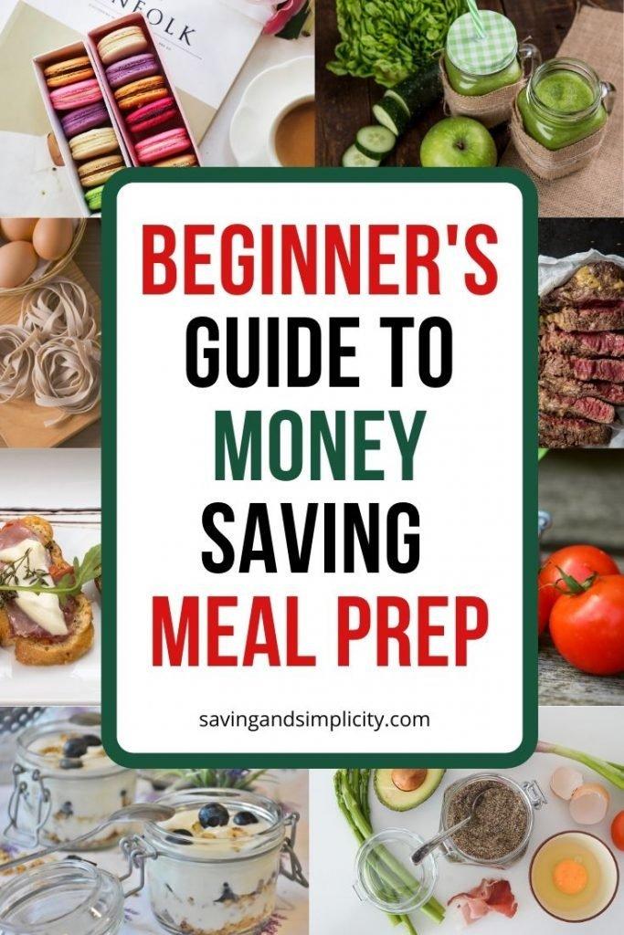 money saving meal prep