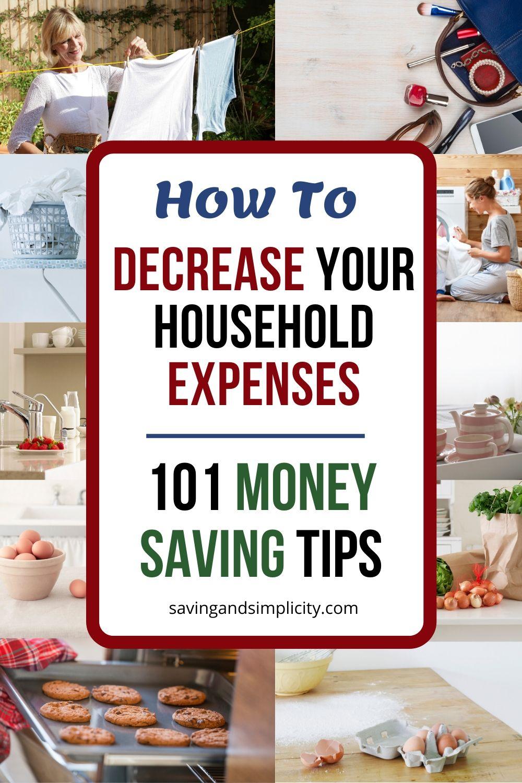 101 money saving tips