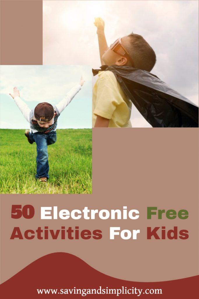 tv free activities