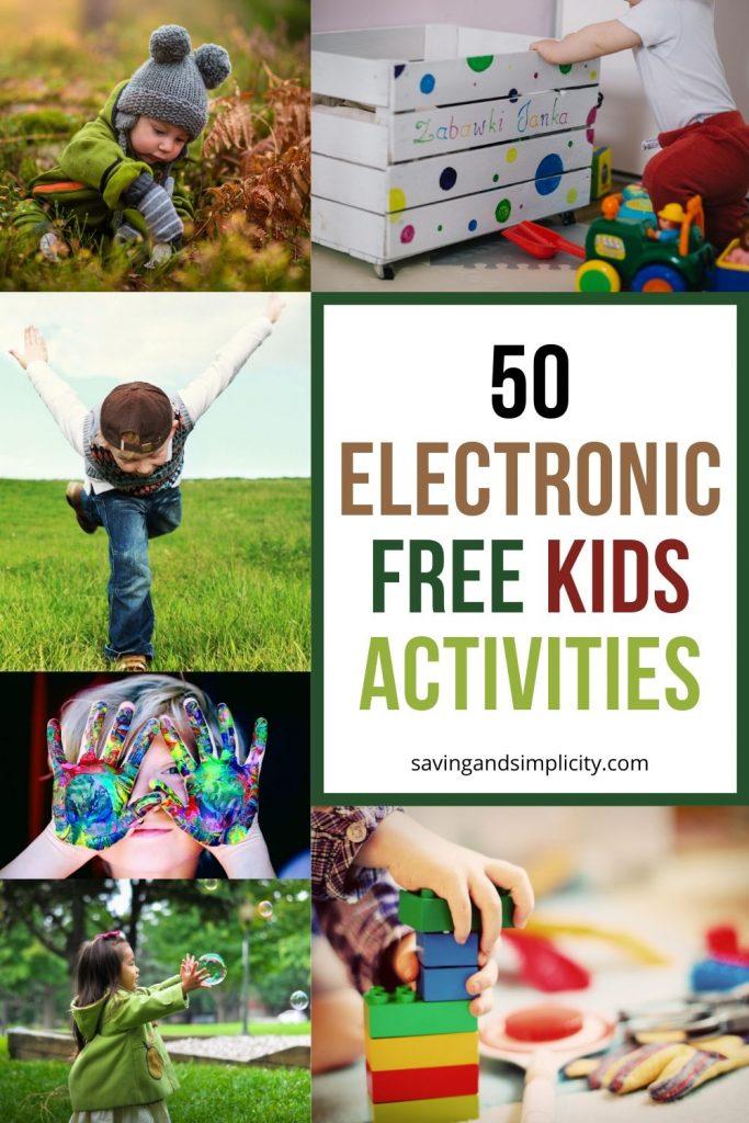 electronic free activities