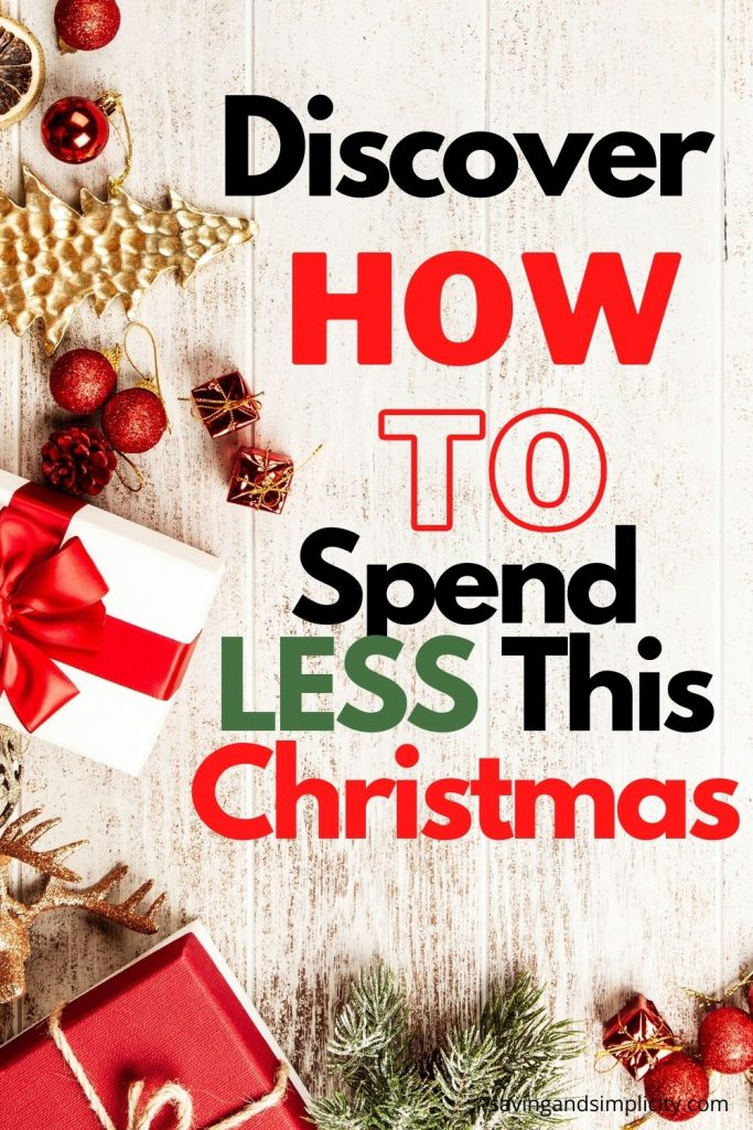 spend less this holiday
