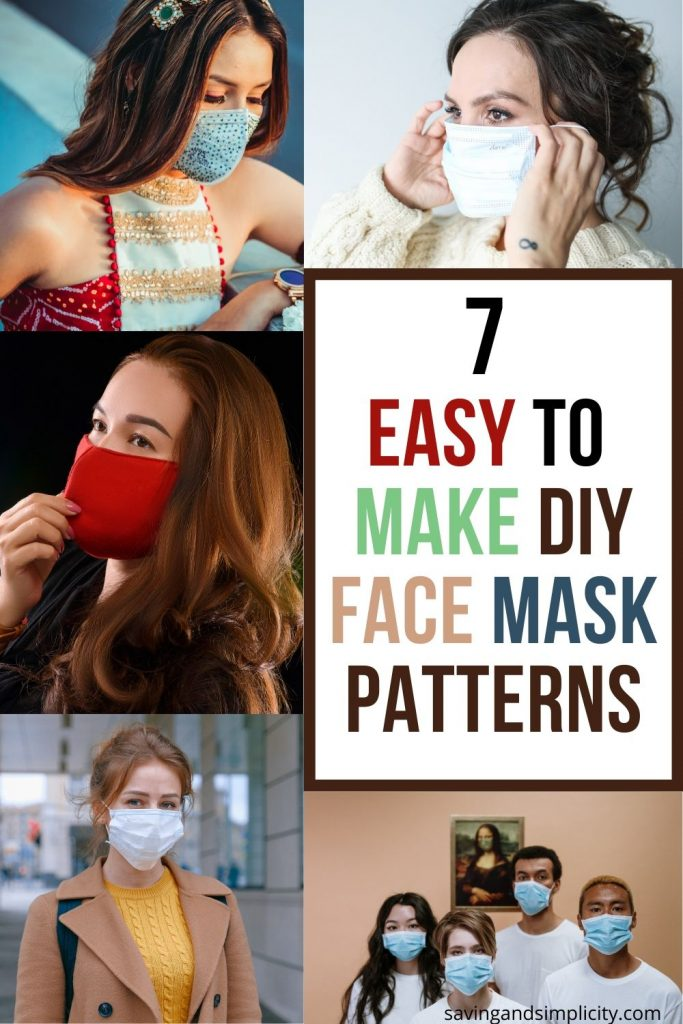 easy to make face mask