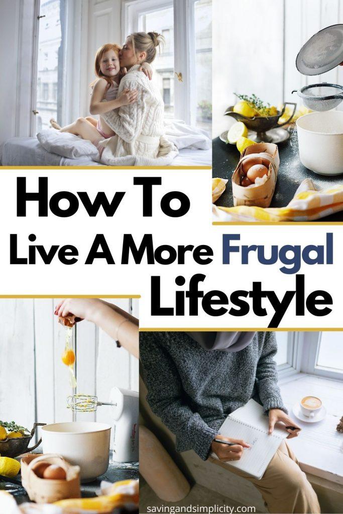 frugal lifestyle