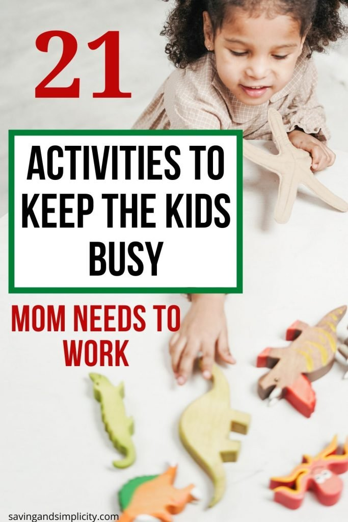 activities to keep kids busy