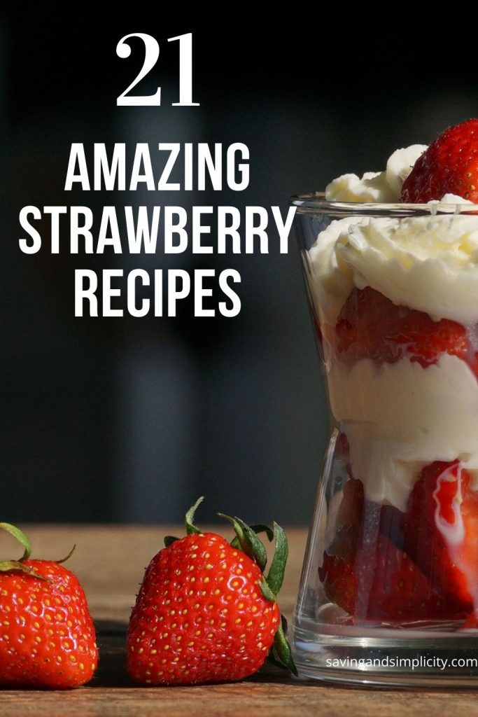 strawberry recipe