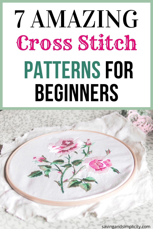 beginner cross stitch