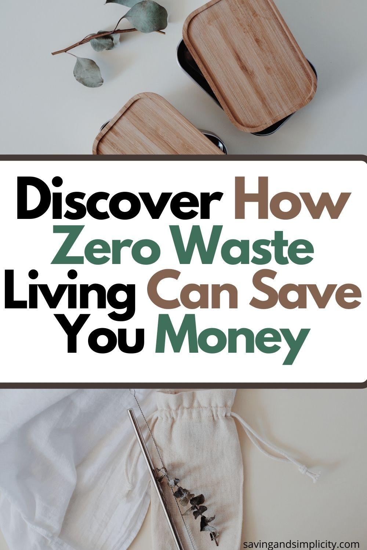 zero waste save money