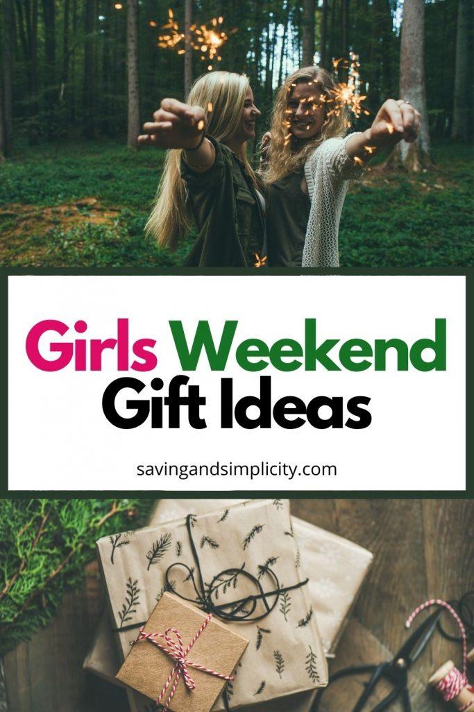 girls weekend ideas