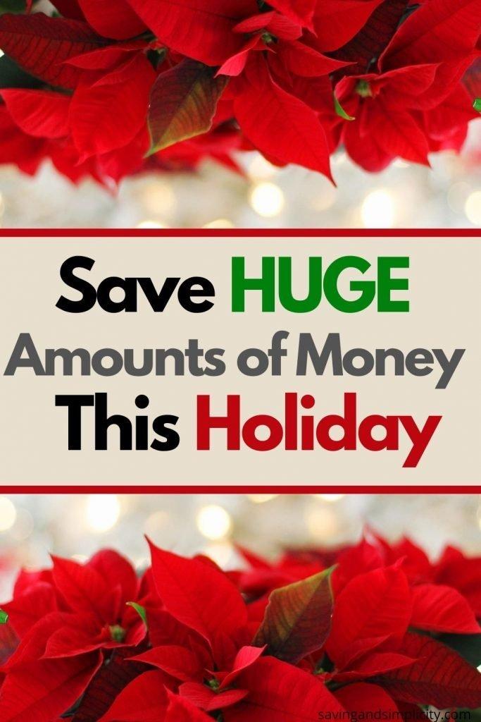 holiday money saving