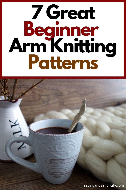 arm knitting patterns