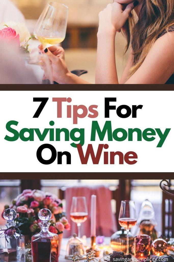 saving money on wine