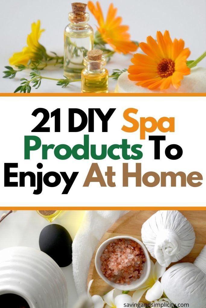 diy spa products