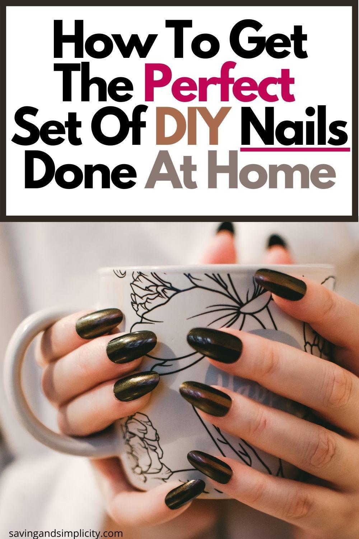 DIY zu Hause Nägel