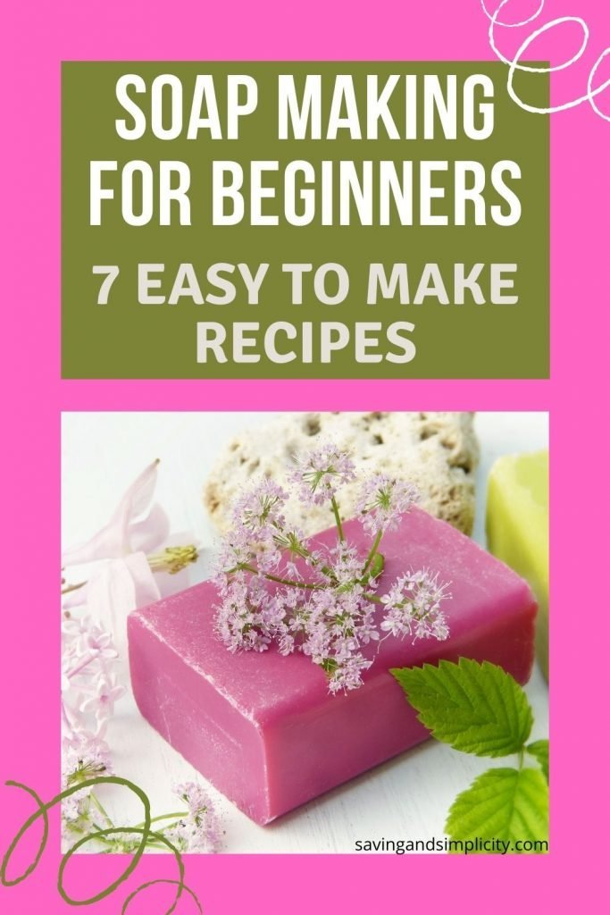 beginner soap making