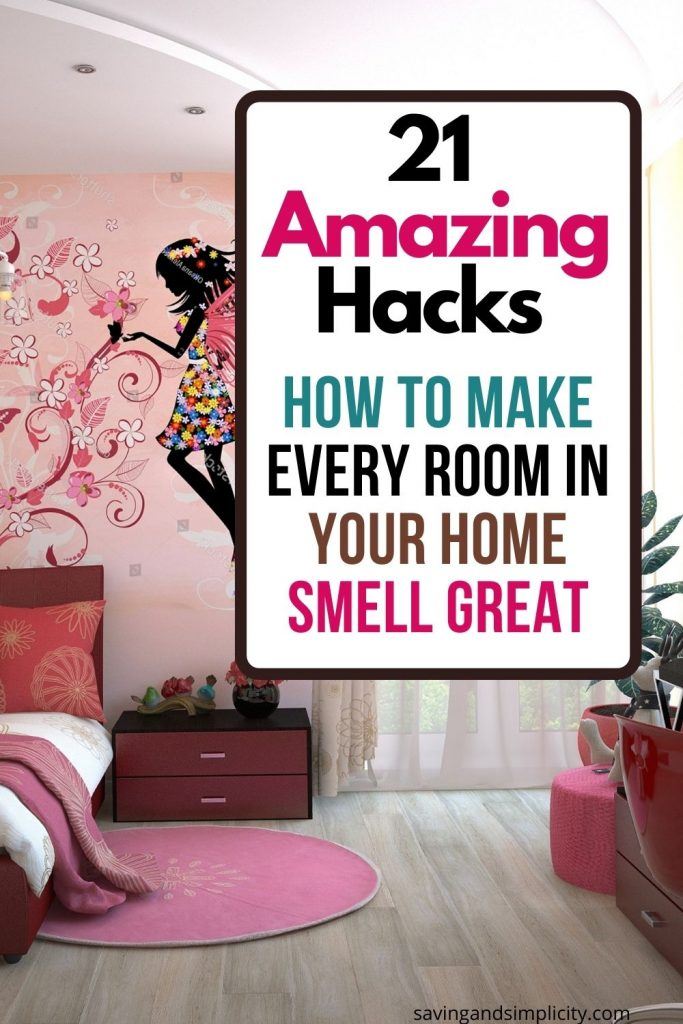 how to make your room smell great