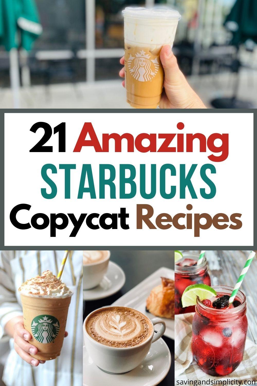 Starbucks Nachahmer Rezepte