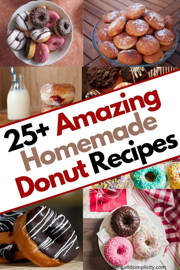 easy homemade donut recipes