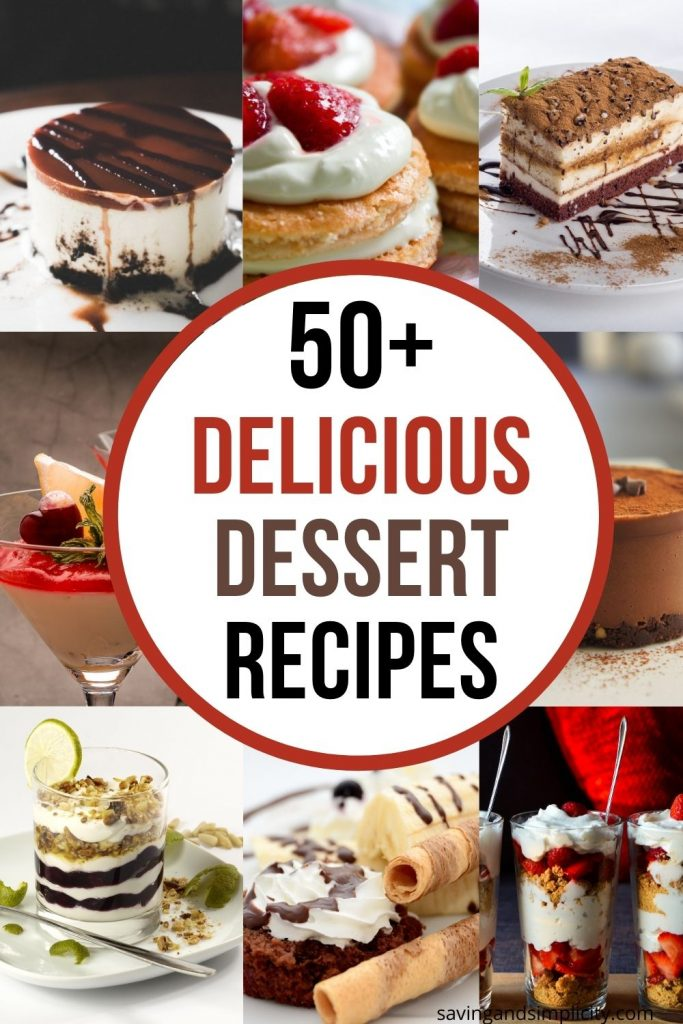 delicious dessert recipes