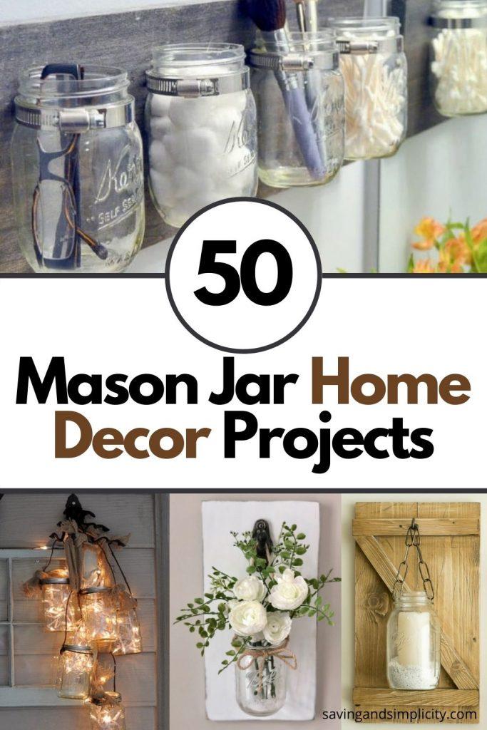 mason jar home decor