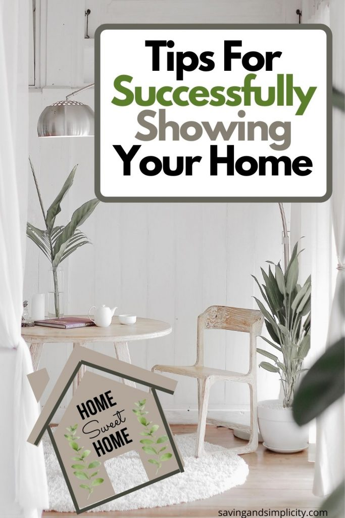 successful home showing