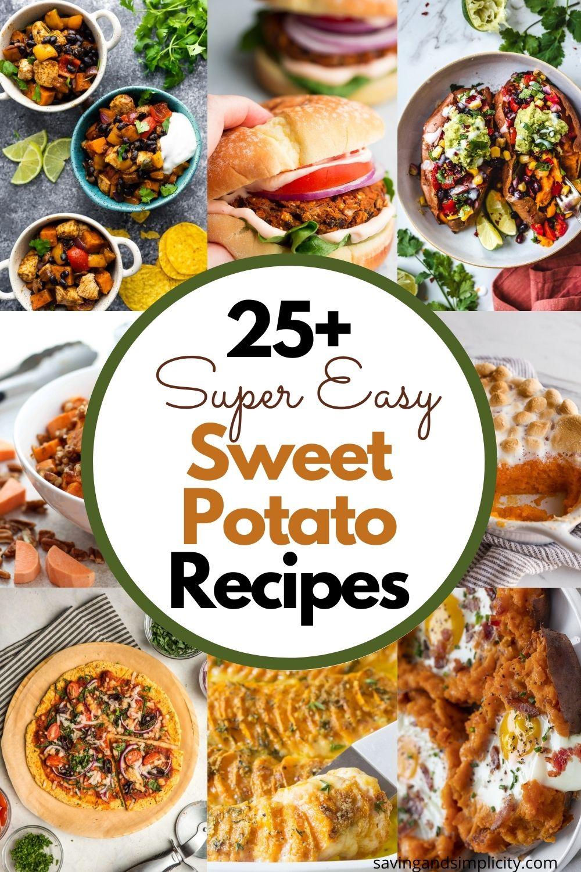 einfache Süßkartoffelrezepte