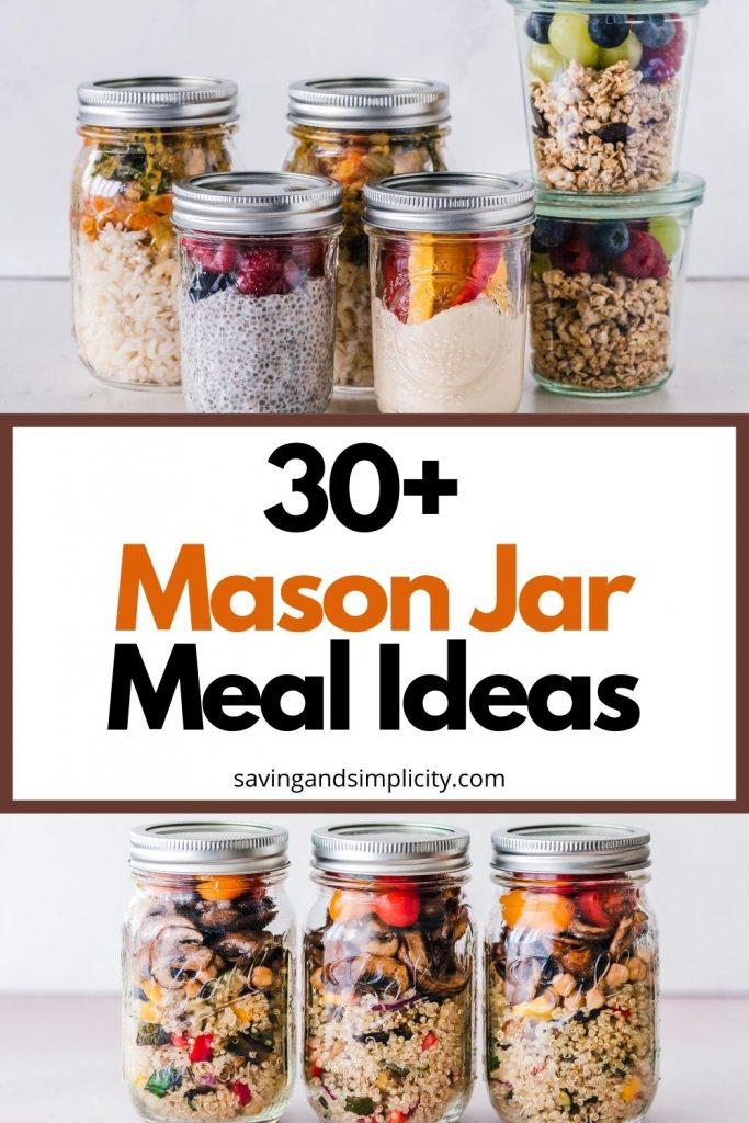 mason jar meal ideas