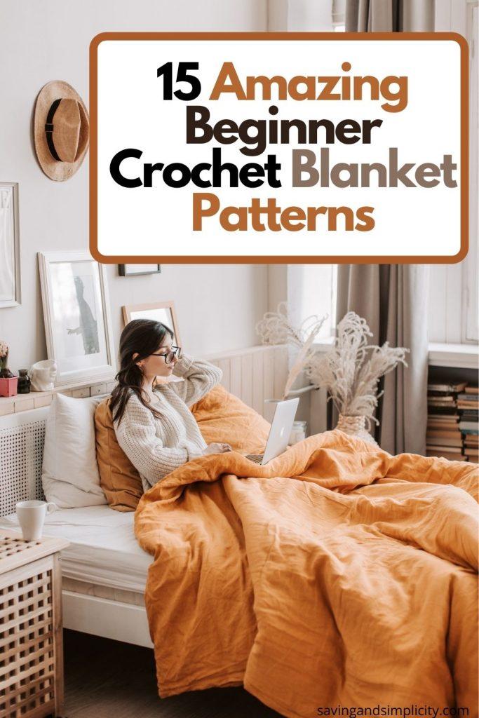 beginner crochet blankets
